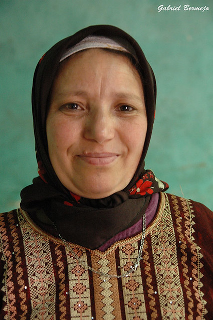 Mujer bereber- Valle de Ourica