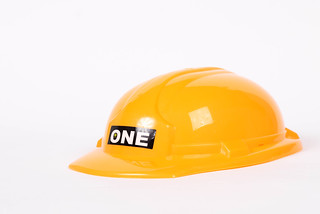 Safety helmet isolated on white background | by wuestenigel