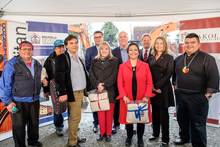Investing in new homes for Indigenous peoples in Langford | by BC Gov Photos