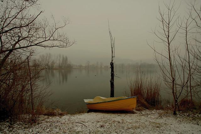 La barca gialla