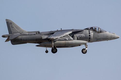 AV-8B 164143 MCAS Yuma WM | by finband76