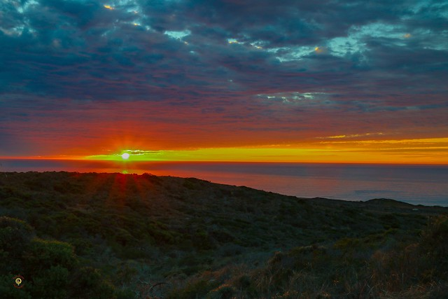 @montanadeoro is one of my favorite local spots to check out the #sunsets over the Pacific Ocean. It is a secluded California State Nature Preserve with miles of trails that run along the bluff edge, along the shore and in the nearby hills. I've been here