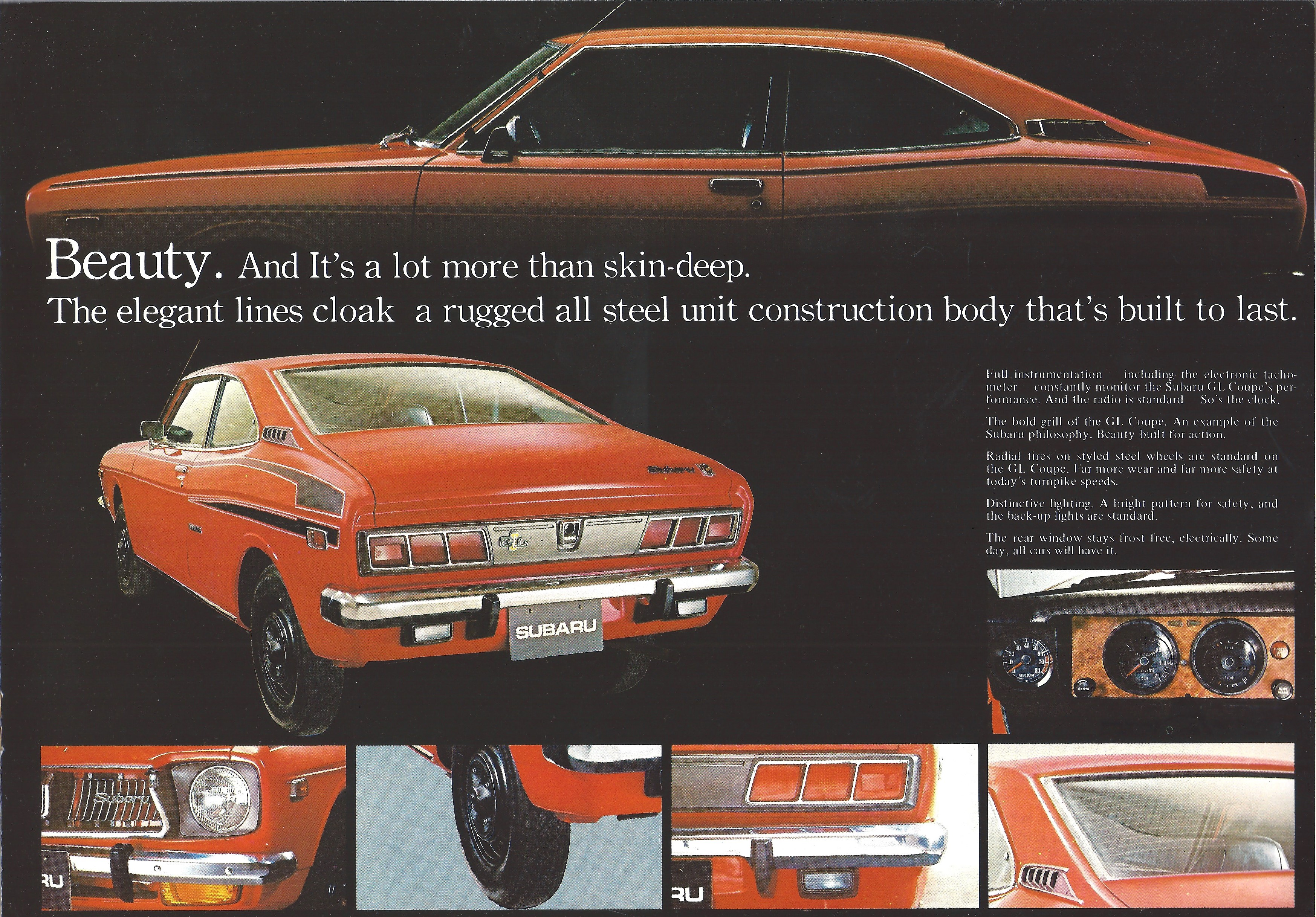 1972 Subaru GL Coupe