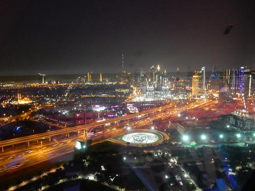 Skyline vanuit Dubai Frame