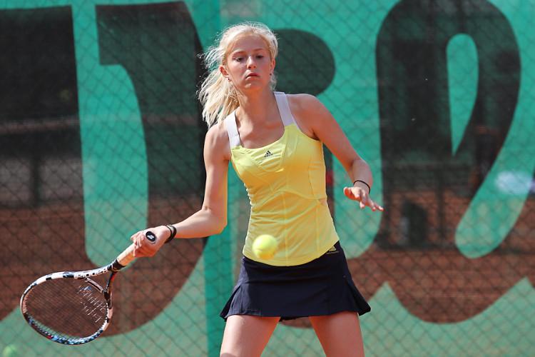 Latvijas Jaunatnes vasaras olimpiāde 2013, tenisa sacensības (Foto: M.Sīlis)