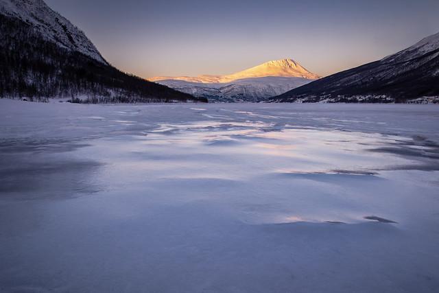 Winter sunset II, Tromsø (Explore)
