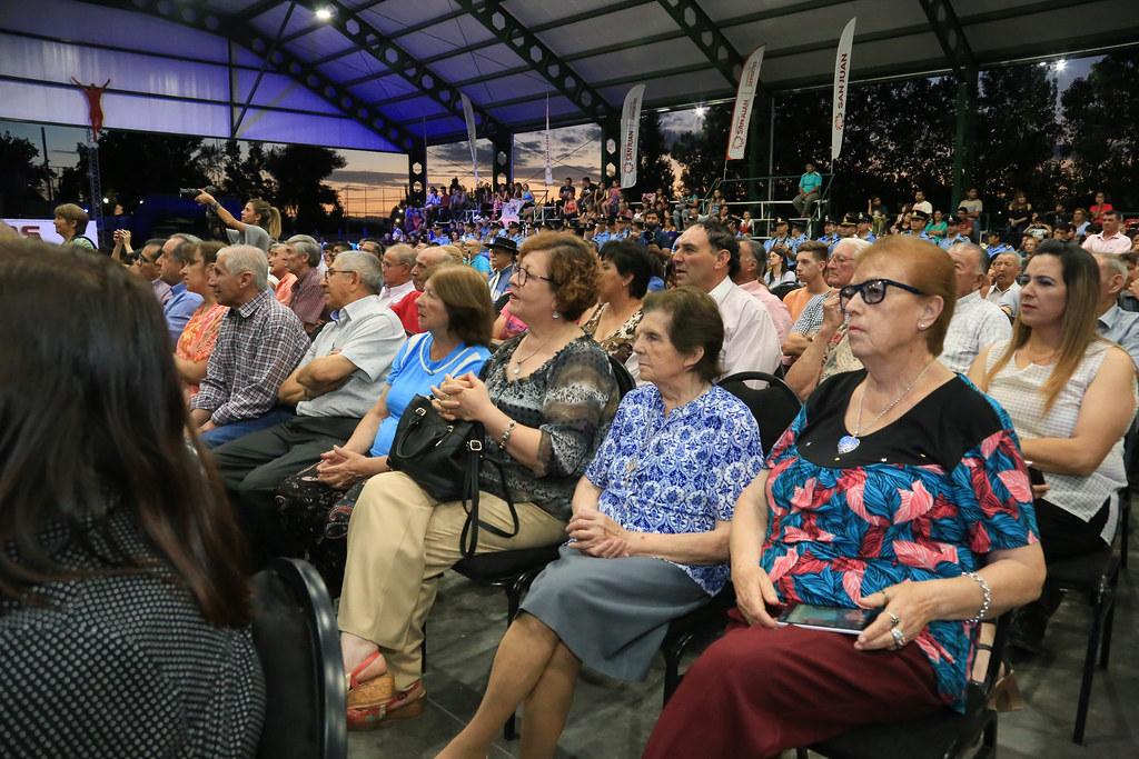 2018-12-12 PRENSA: Inauguracion de techado  uniòn vecinal villa del salvador Angaco