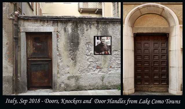 ITALY SEP 2018 - Lake Como Doors and Knockers (31 & 32)B