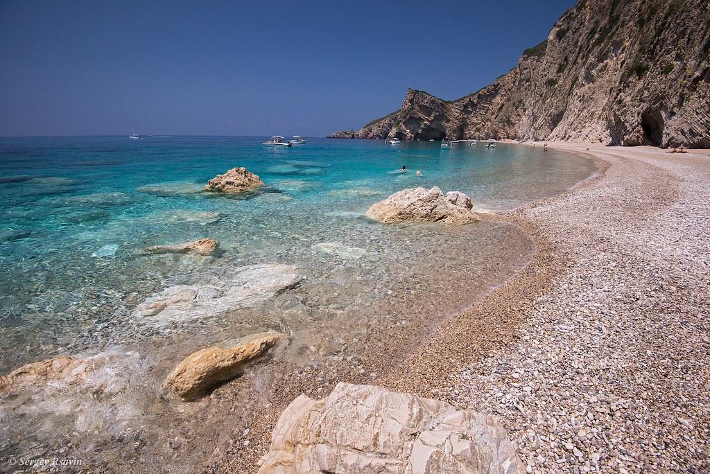 Corfu Paradise Beach \ Корфу  Парадиз Бич   0550p   Sergey