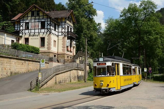 Kirnitzschtalbahn #3, #22  Waldhäusel