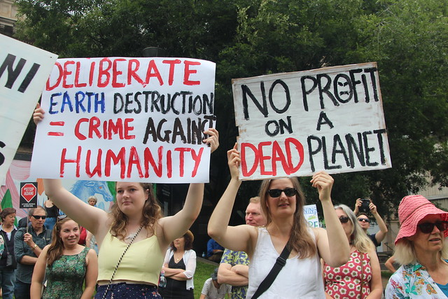No Profit on a dead planet - Melbourne climate march for our future - #stopAdani - IMG_3792