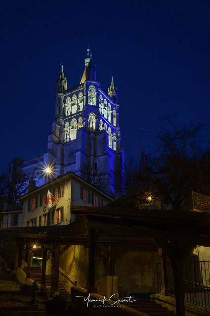 Blue belfry