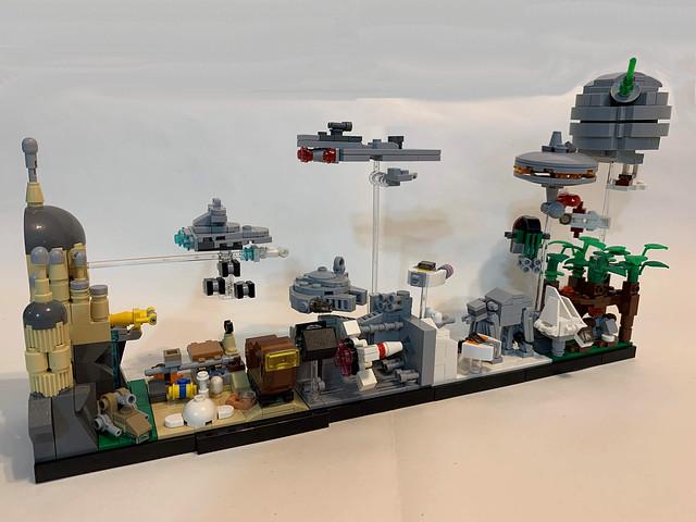 LEGO Star Wars Skyline Architecture MOC