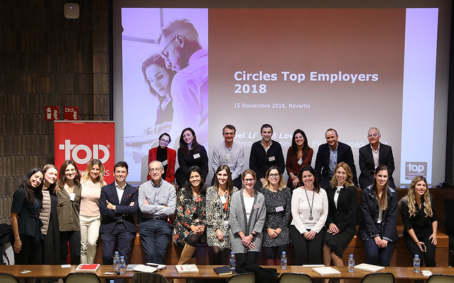 Circle Top Employers 2018, en Novartis Farmacéutica