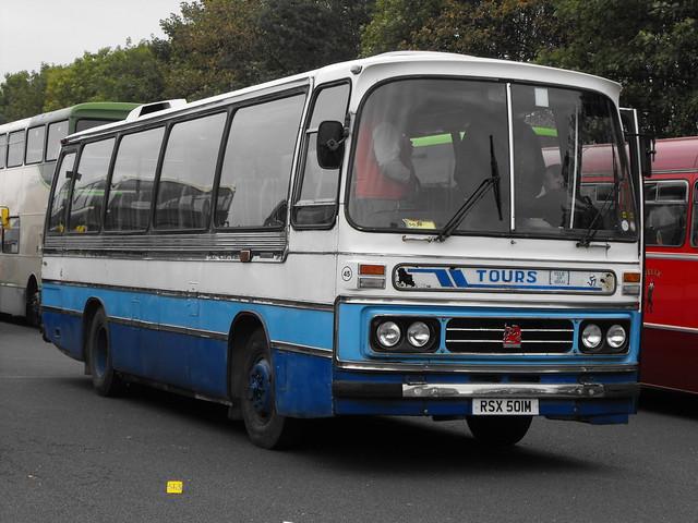 45, RSX 501M, Bedford YRQ, Duple Dominant C45F, 1974 (t.2018)
