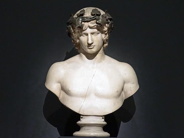 Buste d'Antinoüs, collection Campana (musée du Louvre, Paris)