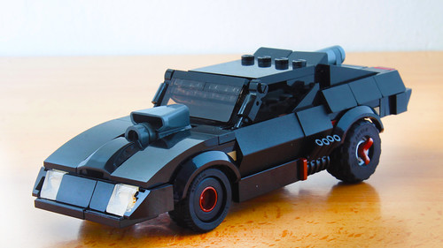 Lego Interceptor V8 from Mad Max Fury Road | by hachiroku24