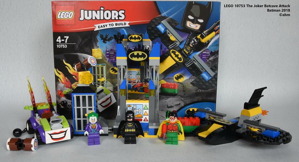 LEGO 10753 Juniors The Joker Batcave Attack