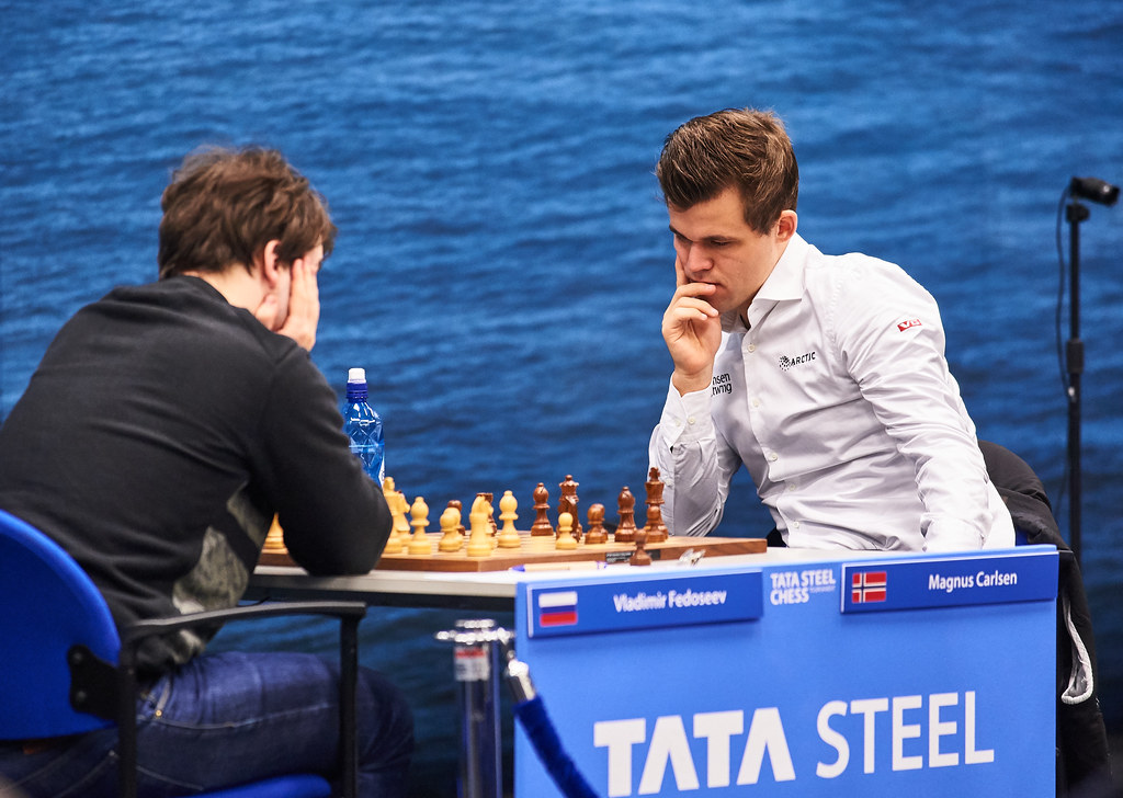 Magnus Carlsen at Tata Steel Chess 2019 | photo id: df030735… | Flickr