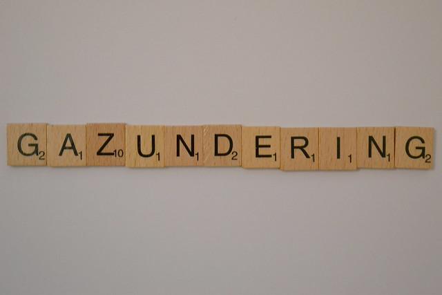 Gazundering Scrabble