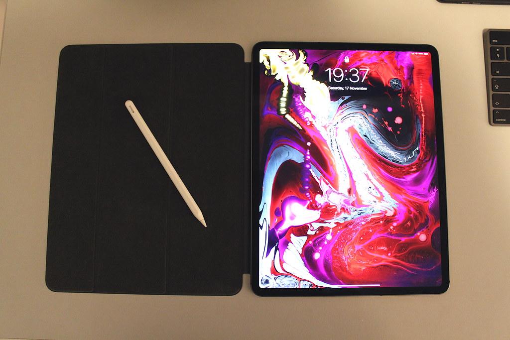 iPad Pro 12 9 2018, Apple Pencil 2 , Apple Smart Folio | Flickr