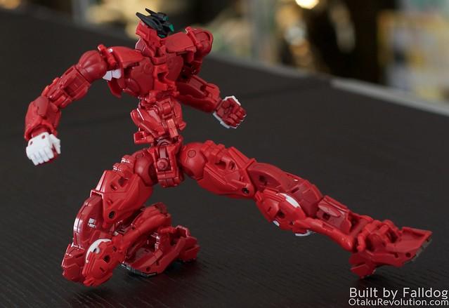 HiRM Astray Red Frame Gundam 7
