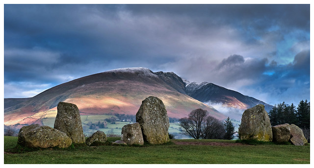 Castlerigg Stone Circle and Blencathra, The Lake District