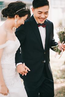 [美式婚紗]士展 & 寶蓮   / 馬路草地   by weddingren