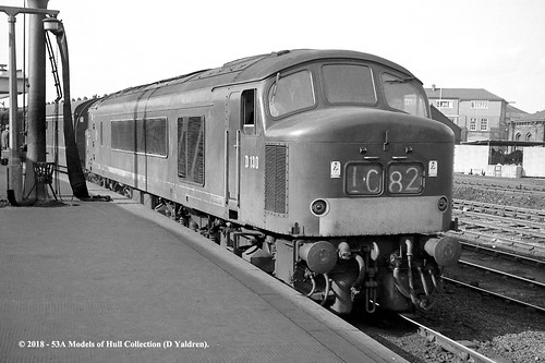 britishrailways sulzer type4 class451 d130 45148 diesel passenger derby derbyshire train railway locomotive railroad