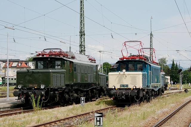 DB Museum E94 279 und Rail4U 194 178-0, Freilassing