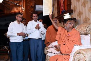 Std-10-11-12-visit-to-Haridham-for-Swamishree's-Blessings-(18) | by Atmiya Vidya Mandir