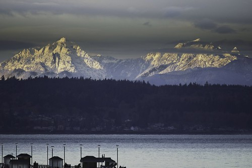 landscape olympicmountains pugetsound