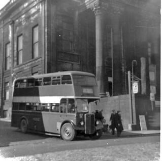 AEC Regent III-Roe-1950-Hebble 44 &  244-BJX55-JT-St.James Rd