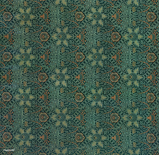 Ispahan by William Morris (1834-1896). Original from The MET Museum. Digitally enhanced by rawpixel.