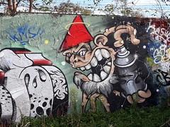 graffiti: De Utrechtse Kabouter