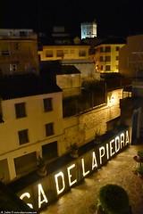 Torreón de Boabdil visto desde la Casa de la Piedra