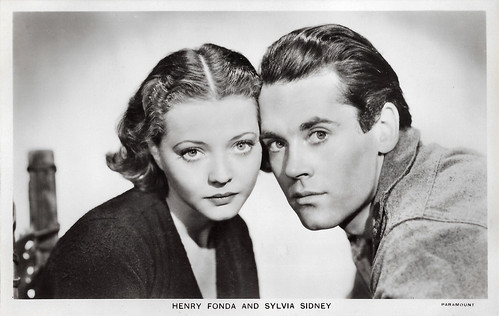 Henry Fonda and Sylvia Sidney in The Trail of the Lonesome Pine (1936)