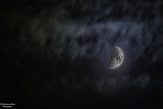 First Quarter Moon (50%) | by Maria Gemma - A Passionate Photographer