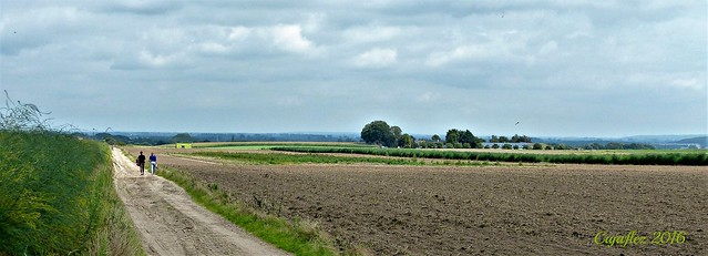 Wandelpad richting Groesbeek