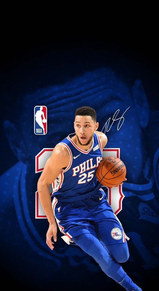 25 Ben Simmons Philadelphia 76ers Iphone X Xs Xr Wallpa