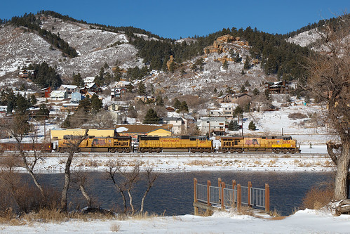 up up7654 ge generalelectric gevo palmerlake colorado jointline rampartrange mpuny train railroad