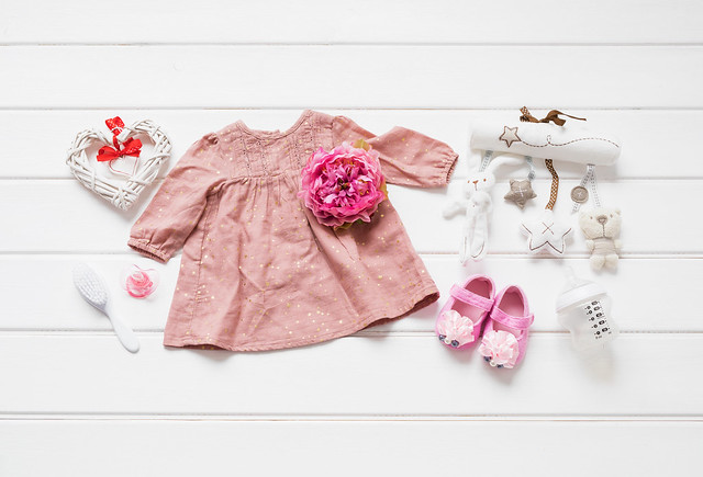 שמלה לתינוקת