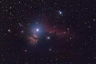 HH & Flame Nebula