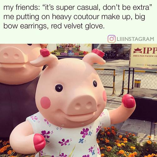 #pig #theyearofpig #meme #2019 #shotoniphone | by Liiintz
