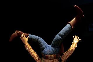 Woody Takes a Tumble