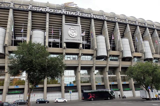 Estadio Santiago Bernabéu.- Madrid