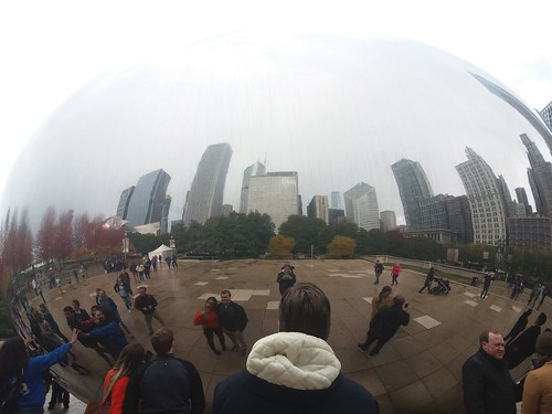 Chicago - Reflection in the Bean | by Monika Knight