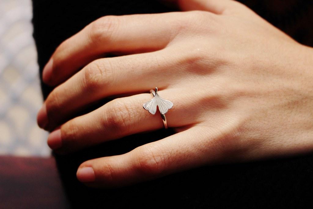 arrivato offrire sconti qualità affidabile Ginkgo ring by Calcagnini Gioielli | Etsy store: www.etsy.co… | Flickr