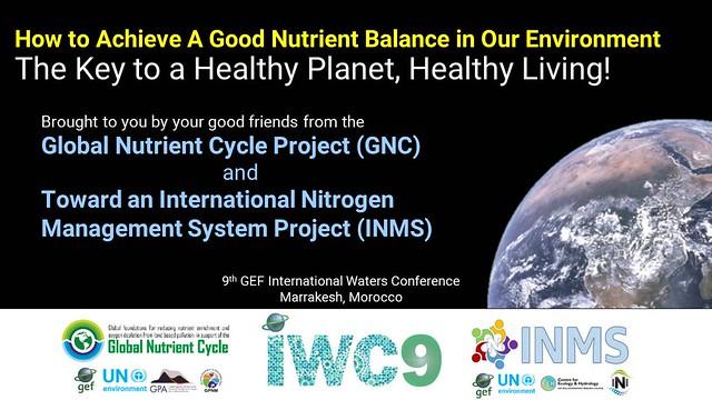 GEF IWC9 Nutrient Clinic presentation, Marrakech, Morocco