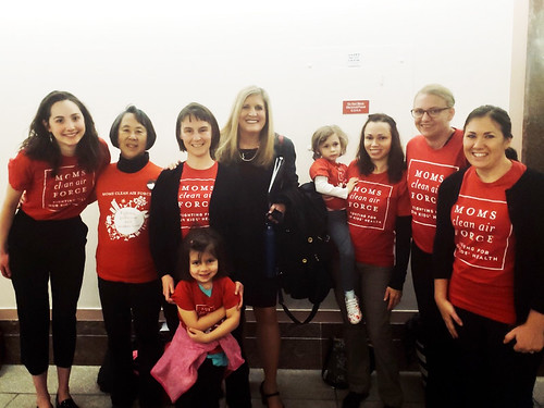 Moms with Alexandra Dunn on Capitol Hill | by Moms Clean Air Force